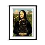 Mona - Affenpinscher3 Framed Panel Print