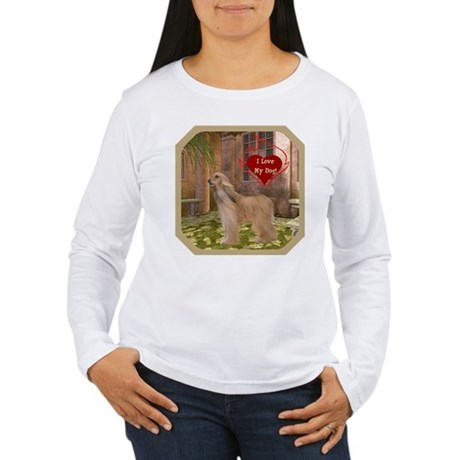 Afghan Hound Women's Long Sleeve T-Shirt