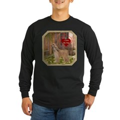 Afghan Hound Long Sleeve Dark T-Shirt