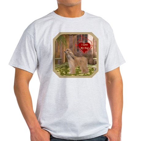 Afghan Hound Light T-Shirt