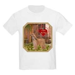 Afghan Hound Kids Light T-Shirt