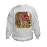 Afghan Hound Kids Sweatshirt