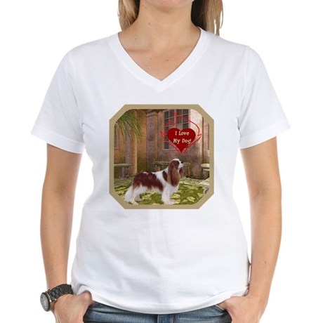 Cavalier King Women's V-Neck T-Shirt