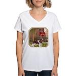 Cavalier King Women's V-Neck T-Shirt
