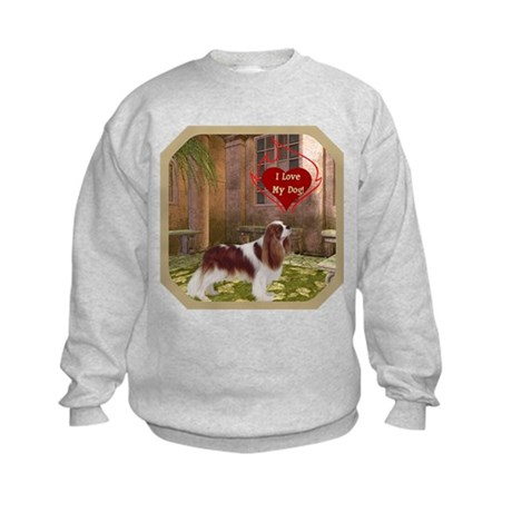 Cavalier King Kids Sweatshirt
