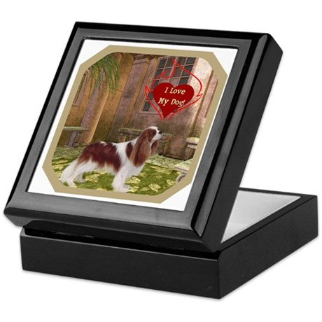 Cavalier King Keepsake Box