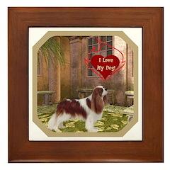 Cavalier King Framed Tile