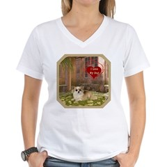 Chihuahua Women's V-Neck T-Shirt