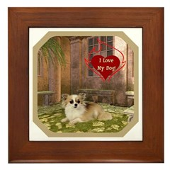 Chihuahua Framed Tile