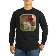 Chow Chow Long Sleeve Dark T-Shirt