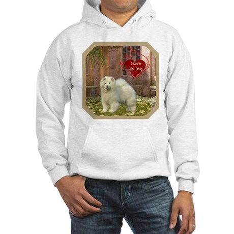 Chow Chow Hooded Sweatshirt
