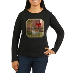 Cocker Spaniel Women's Long Sleeve Dark T-Shirt