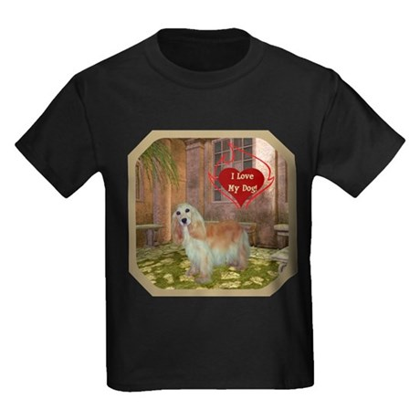 Cocker Spaniel Kids Dark T-Shirt