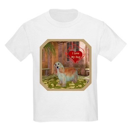 Cocker Spaniel Kids Light T-Shirt