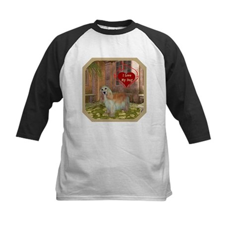 Cocker Spaniel Kids Baseball Jersey