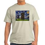 Starry Night / Affenpinscher Light T-Shirt