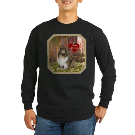 Collie Long Sleeve Dark T-Shirt