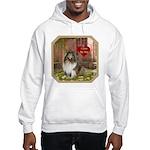 Collie Hooded Sweatshirt
