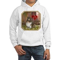Collie Hooded Sweatshirt