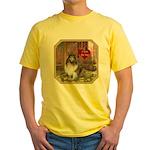 Collie Yellow T-Shirt