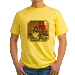 Collie Yellow T-Shirt