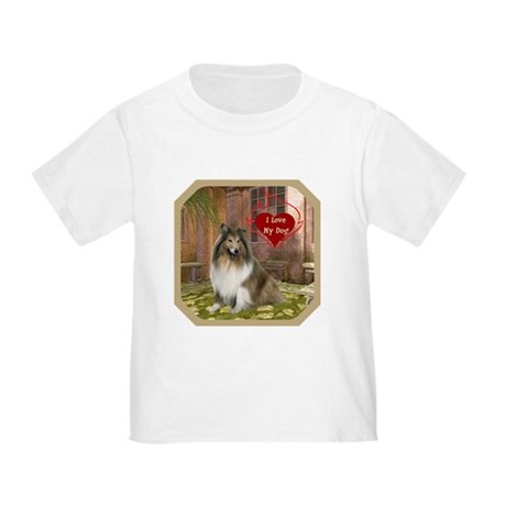 Collie Toddler T-Shirt