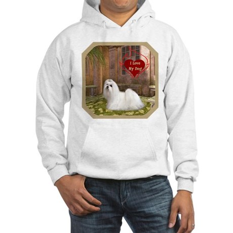 Maltese Hooded Sweatshirt