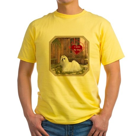 Maltese Yellow T-Shirt