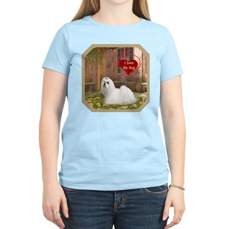 Maltese Women's Light T-Shirt