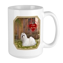 Maltese Large Mug