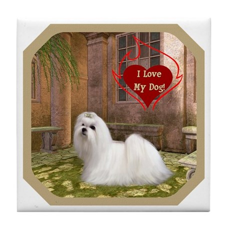 Maltese Tile Coaster