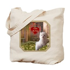 Maltese Puppy Tote Bag
