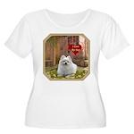Pomeranian Women's Plus Size Scoop Neck T-Shirt