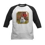 Pomeranian Kids Baseball Jersey