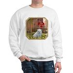 Pomeranian Puppy Sweatshirt