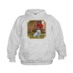 Pomeranian Puppy Kids Hoodie