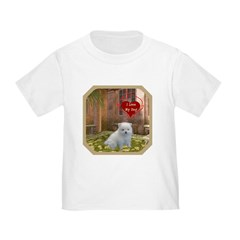 Pomeranian Puppy Toddler T-Shirt