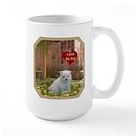 Pomeranian Puppy Large Mug