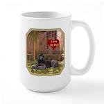 Poodle Large Mug