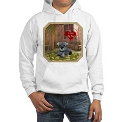Schnauzer #1 Hooded Sweatshirt