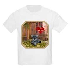 Schnauzer #1 Kids Light T-Shirt