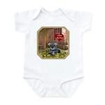 Schnauzer #1 Infant Bodysuit