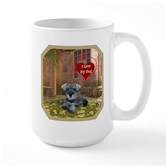 Schnauzer #1 Large Mug