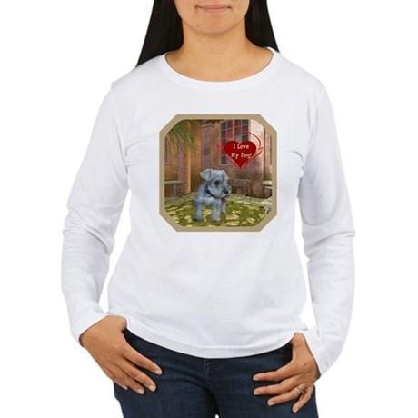 Schnauzer #2 Women's Long Sleeve T-Shirt