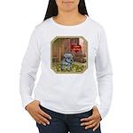 Schnauzer #2 Women's Long Sleeve T-Shirt