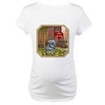 Schnauzer #2 Maternity T-Shirt
