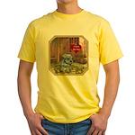 Schnauzer #2 Yellow T-Shirt