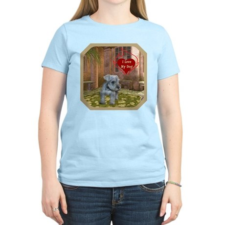 Schnauzer #2 Women's Light T-Shirt