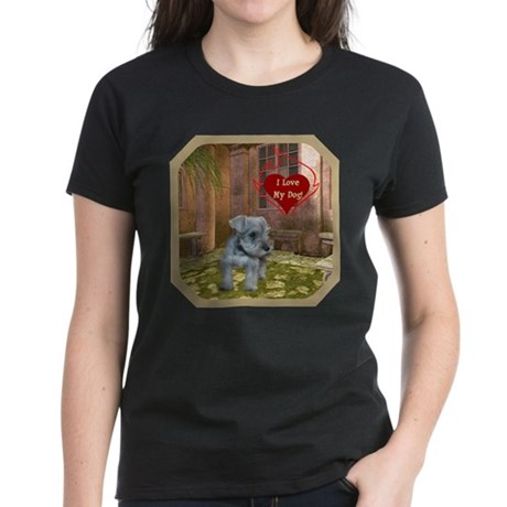 Schnauzer #2 Women's Dark T-Shirt