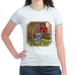 Schnauzer #2 Jr. Ringer T-Shirt